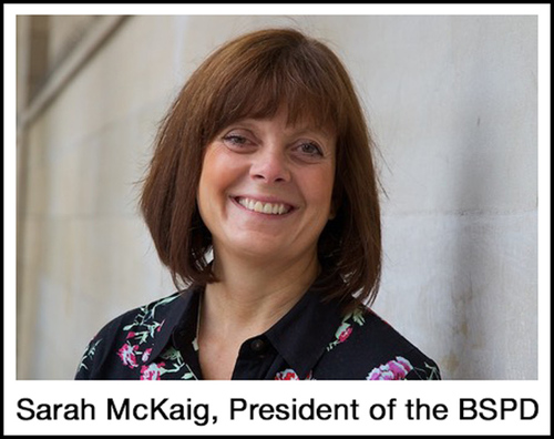 New BSPD president sets out her mission