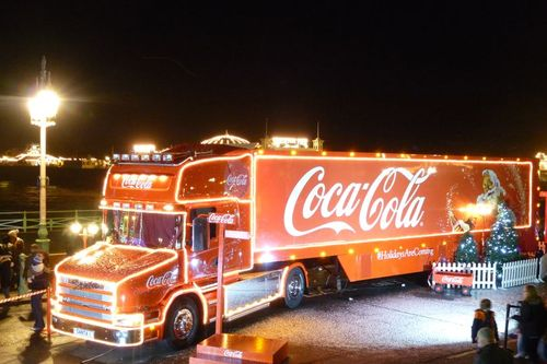 Public Health chief speaks out against Coca-Cola lorry