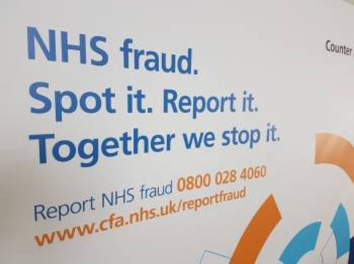 NHS Counter Fraud Authority launched