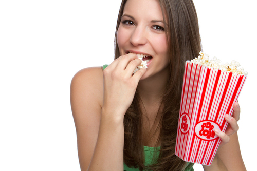 Popcorn and a rise in chipped teeth reported
