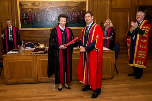 Princess Royal receives Fellowship from FDS