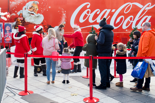 Coca-Cola Christmas trucks to make fewer stops