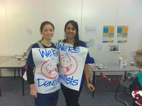 Dentists - a valuable part of Crisis Dental Service at Christmas