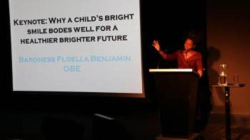 Baroness Benjamin commits to campaigning for improved oral health in children