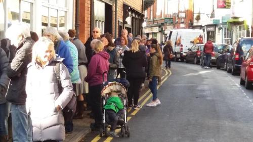 Queues for dentists? appointments are back