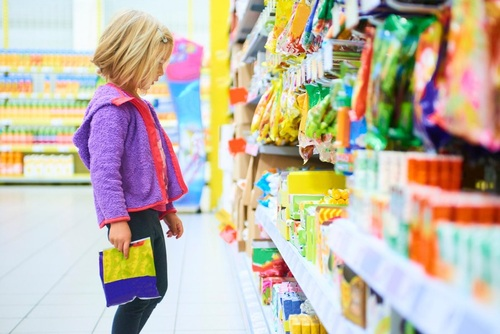 Sweets at the checkout ? action needed