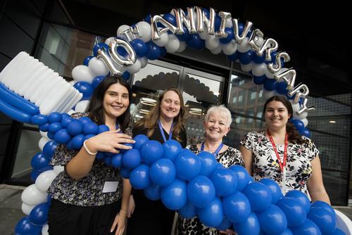 UCLan reaches ten-year milestone