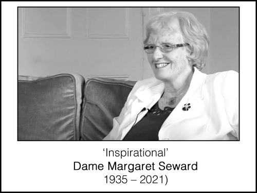 """""""There there's no such thing as problems - they're all opportunities"""" - Dame Margaret Seward (1935 – 2021)"""