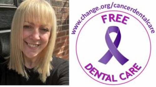 Petition to enable free dental care for cancer patients signed by 160,000