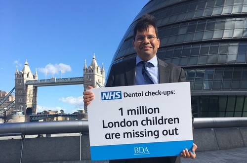 Len D'Cruz speaks out about child dental health in London