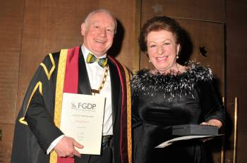 Shelagh Farrell becomes first recipient of Faculty Medal