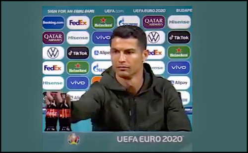 Ronaldo's Action Reinforces Government Advertising Restrictions