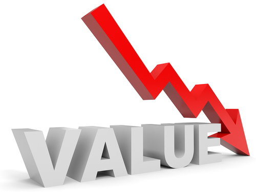 NHS practice values continue to drop