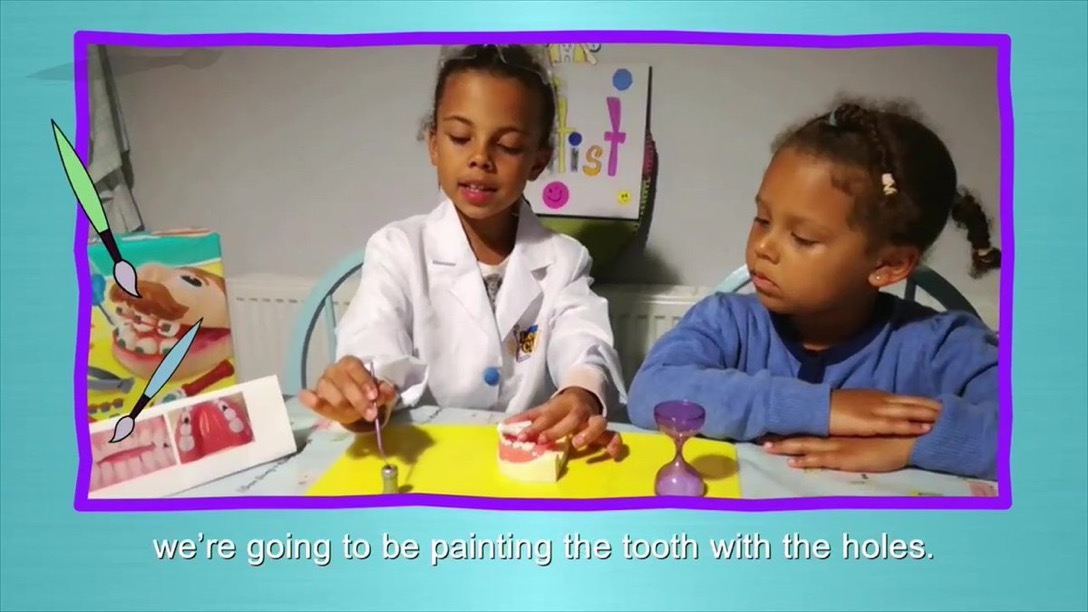 Five star reviews for new dental video made by and for children