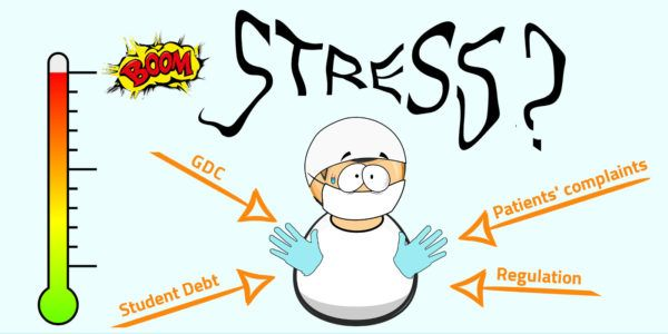 It's official; dentists are stressed out