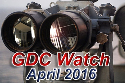 GDC Watch April 2016