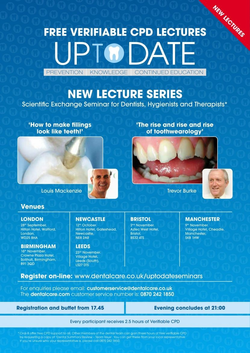 Keep 'Up To Date' with Oral-B Seminars