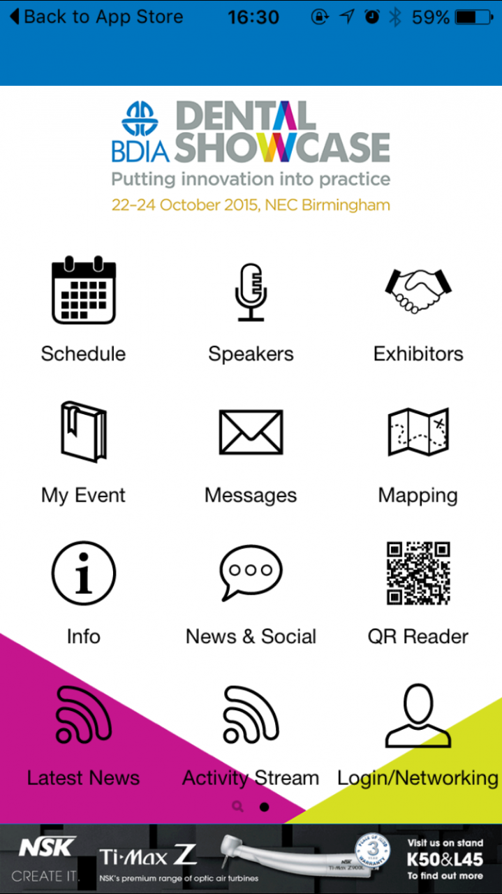 BDIA Dental Showcase: Get organised. Get the app.