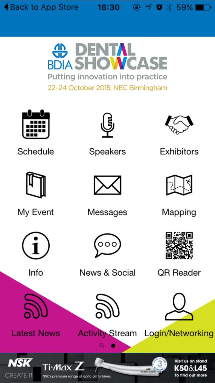 BDIA Dental Showcase: Get organised. Get the app.