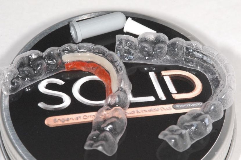 The world's only invisible dual retention system – meeting the needs of dentist and patient