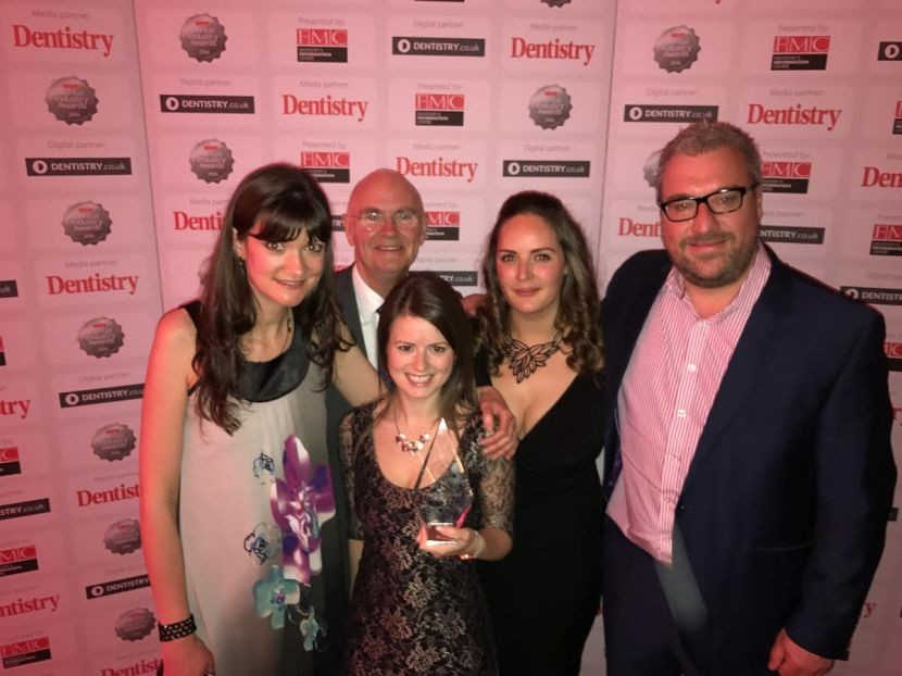 Denplan wins 'Marketing Campaign of the Year' at Dental Industry Awards
