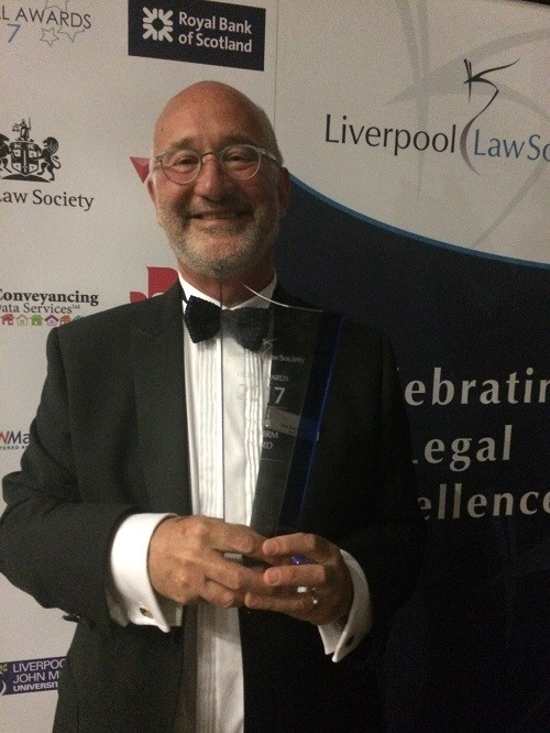 Goodman Grant win award at Liverpool Law Society Legal Awards