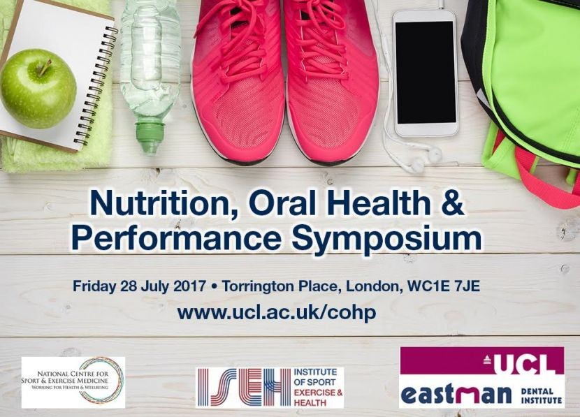 Register now: Nutrition, Oral Health & Performance Symposium