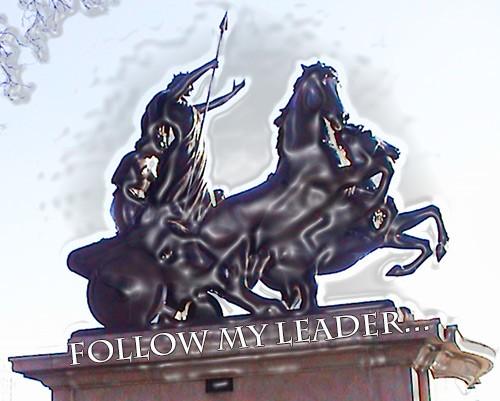Follow My Leader...