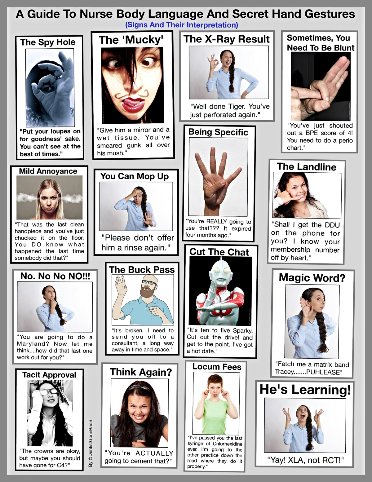 Dental Body Language