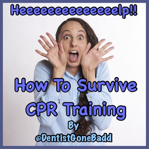 CPR Training by @DentistGoneBadd