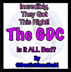 The GDC - is it ALL bad?