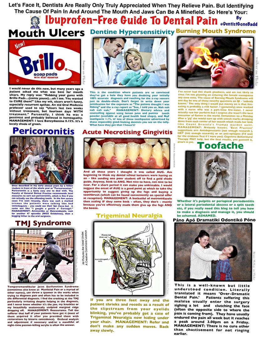 Pain - Nothing hits it harder than @dentistgonebad