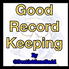 Good Record Keeping
