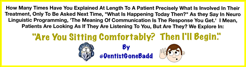 What we say, what the patient hears