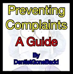 Preventing Complaints