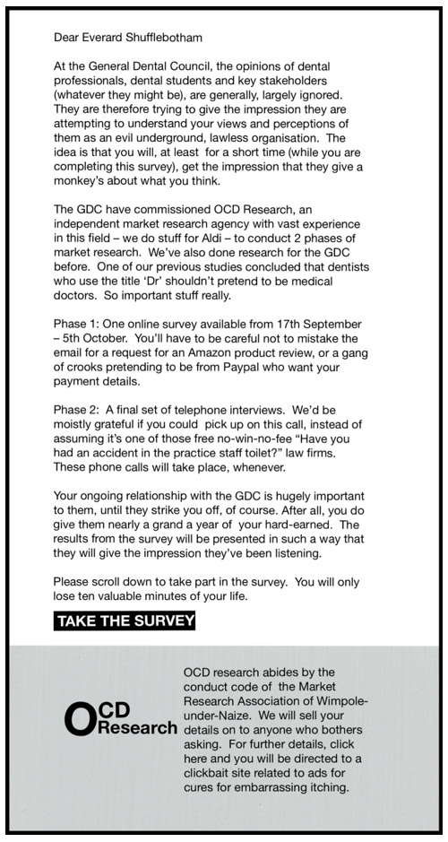 The GDC Survey