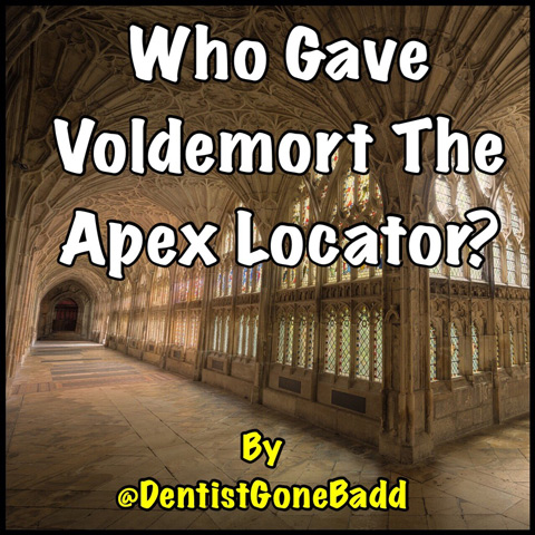 Who gave Voldemort the apex locator?